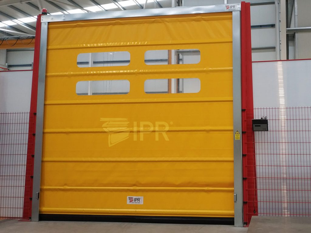 Porta rápida certificada industrial - IPR Belt