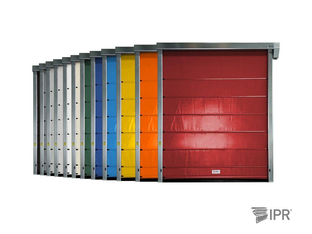 Várias cores disponíveis para personalização da sua Porta Rápida IPR Run