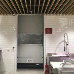 IPR porta rapida run aplicada em supermercado
