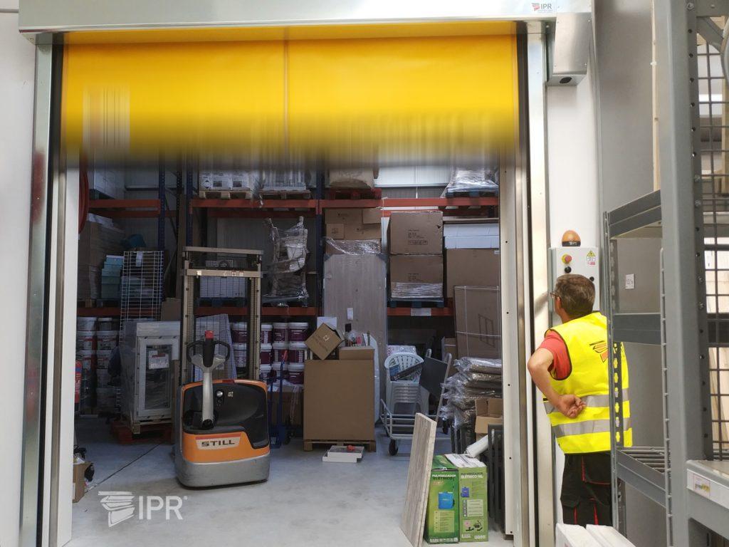 Assistência pós-venda as portas rápidas IPR