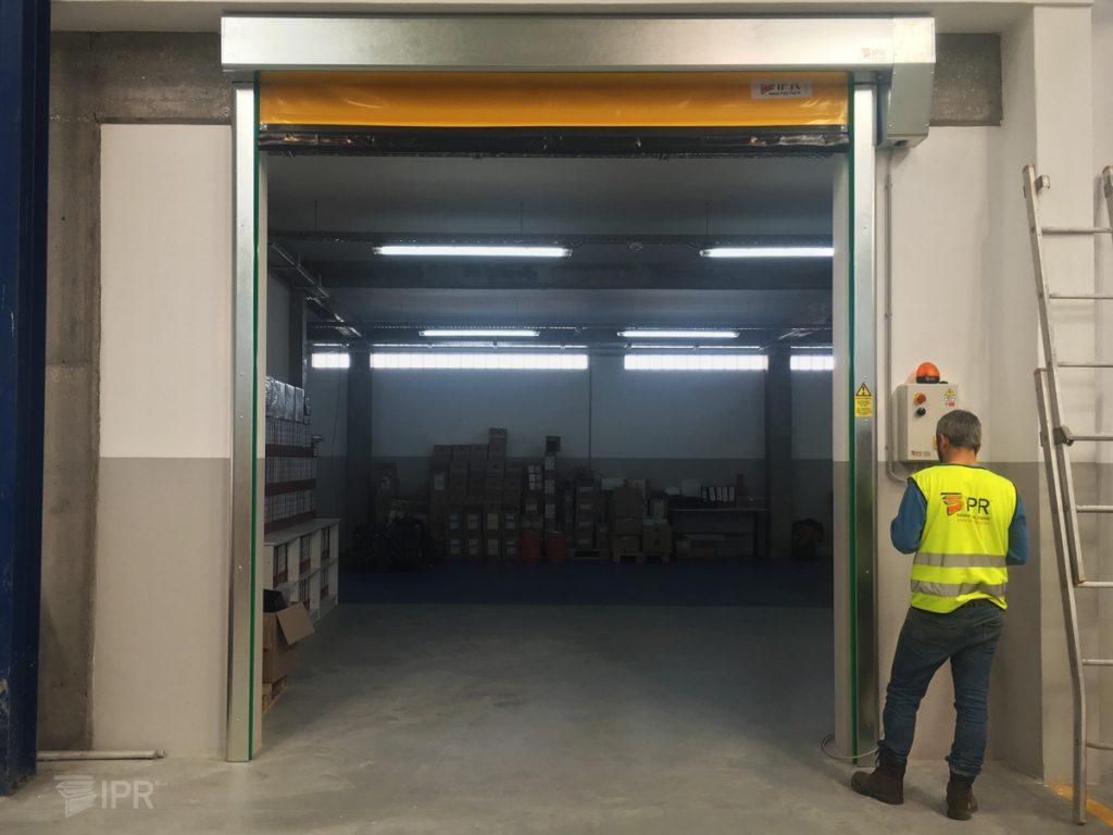 Assistência pós-venda Portas Rápidas IPR